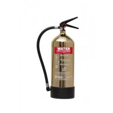 Gold 1818 Polished 6L Water Extinguisher