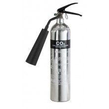 Chrome 1818 Polished 2Kg C02 Extinguisher