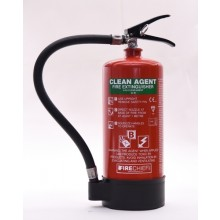 Firechief Clean Agent HFC236 4kg Extinguisher