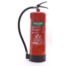 Firechief Clean Agent HFC236 9kg Extinguisher