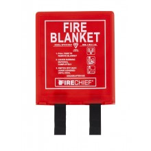1.1m x 1.1m Rigid Case Fire Blanket (BPR1-K100-P)
