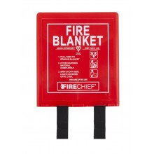 1.2m x 1.2m Rigid Case Fire Blanket (BPR2/K100-P)