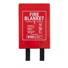 1.2m x 1.8m Rigid Case Fire Blanket (BPR3/K100-P)