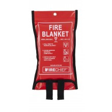 1.1m x 1.1m Firechief Soft Case Fire Blanket (SVB1/K100-P)