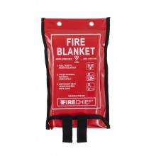 1.2m x 1.2m Firechief Soft Case Fire Blanket (SVB2/K100-P)