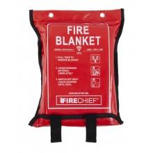 1.2m x 1.8m Firechief Soft Case Fire Blanket (SVB3/K100-P)