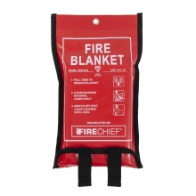 1m x 1m Firechief Fire Blanket Soft Case (SVB1/K40)