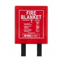 1m x 1m Firechief Fire Blanket Rigid Case (BPR1/K40)