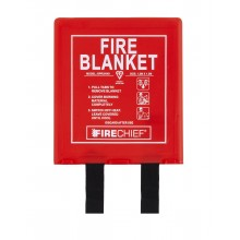 1.2 x 1.2m Firechief Fire Blanket Rigid Case (BPR2/K40)