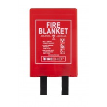 1.2m x 1.8m Firechief Fire Blanket Rigid Case (BPR3/K40)
