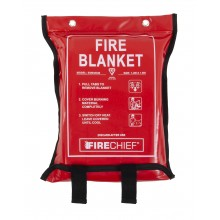 1.2m x 1.8m Firecheif Fire Blanket Soft Case (SVB3/K40)