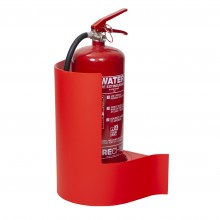 Firechief Wallmounted Extinguisher Stand - Red