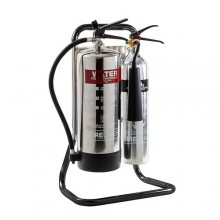 FIRECHIEF TUBULAR DOUBLE STAND - BLACK