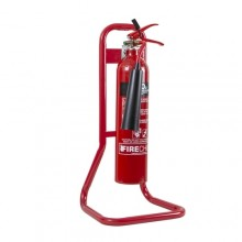 Firechief Tubular Single Stand - Red