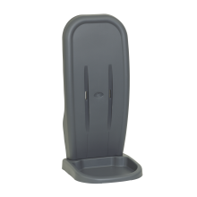 Injection Moulded Two-Part Grey Stand - Single