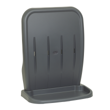 Injection Moulded Two-Part Grey Stand - Double