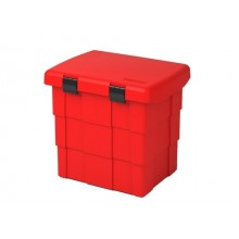 Red Firechief Storage Box/Grit Bin
