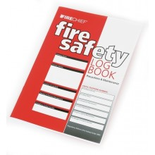A4 fire log book