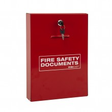 Slimline document holder with key lock