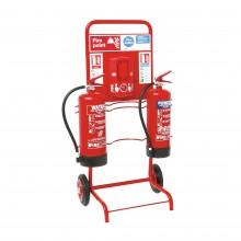 Site alarm trolley