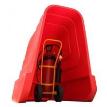 Wheeled Extinguisher Shelter