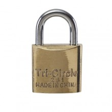 Brass Padlock - 20mm, Keyed Alike