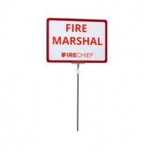 Telescopic Fire Marshal Sign