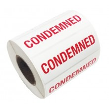 'Condemned' label