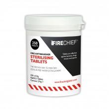 Firechief Sterilising Tablets - Tub of 250