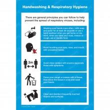 HAND WASHING & RESPIRATORY HYGIENE POSTER