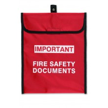 Soft pack document holder