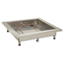 Fire training tray c/w lighting kit
