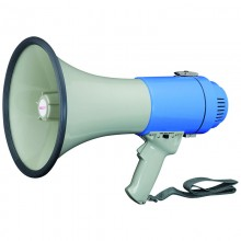 Megaphone with built in microphone