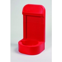 Single Extinguisher stand with recessed base