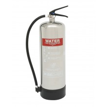Firechief ELITE 9 litre Stainless Steel Water Extinguisher