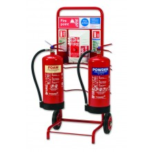 Site alarm trolley