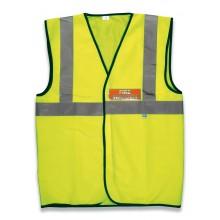 High visibility fire warden waistcoat