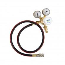 Nitrogen regulator and hose assembly