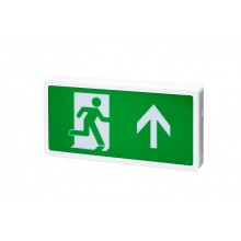 Firechief 3W LED Emergency exit box - switchable