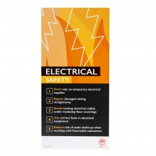 Fire Safety Assured Information Sign- Electrical Safety