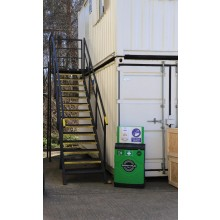 Mobile Hand Sanitiser Station with Lockable Cabinet (without dispenser)