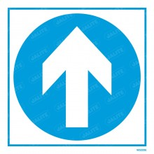 FOLLOW ARROW SIGN