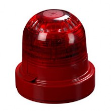 XPander sounder (V1 - red) visual indicator and mounting base (red)
